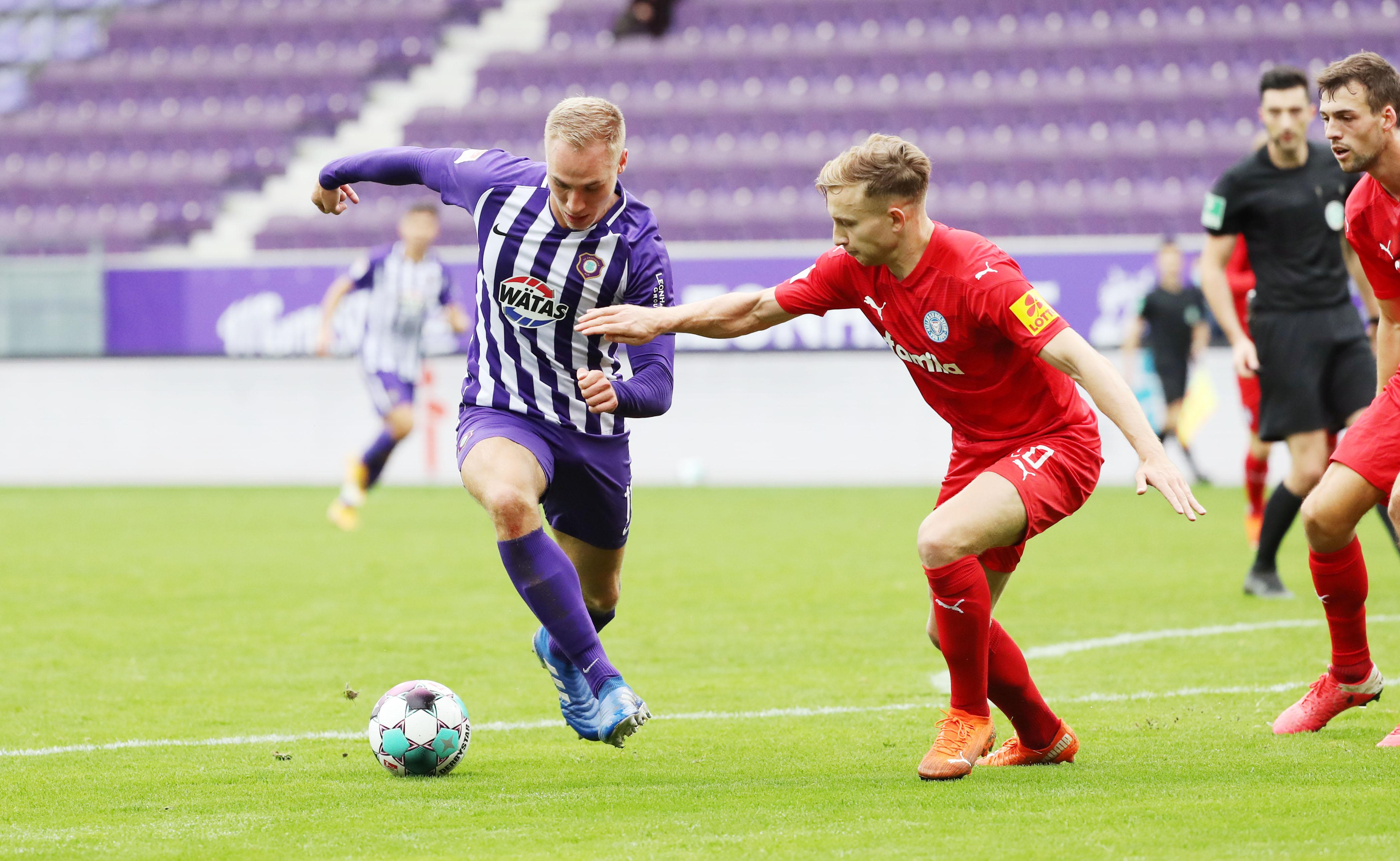 Fc Erzgebirge Aue E V Punkteteilung Gegen Holstein Kiel